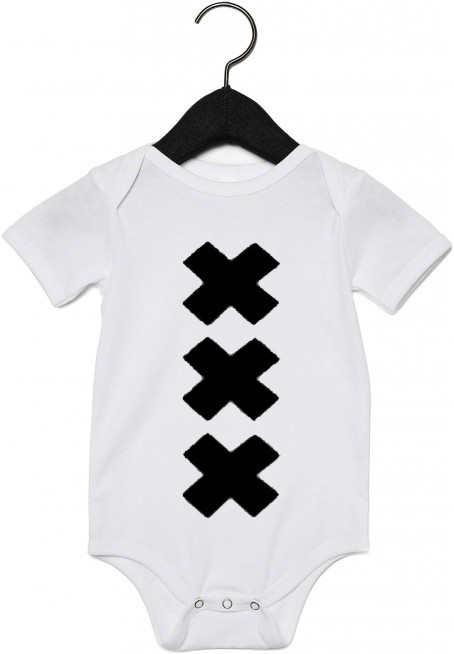 Wit rompertje XXX