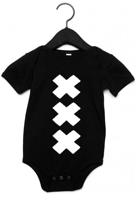 Zwart Rompertje XXX