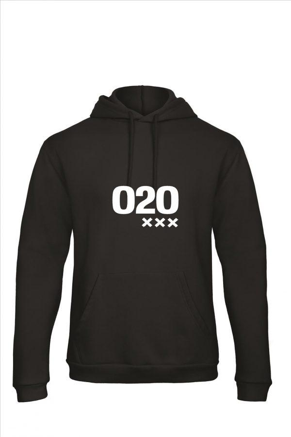 Zwart hoodie 020 XXX