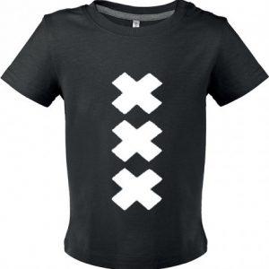 Zwart shirt baby XXX