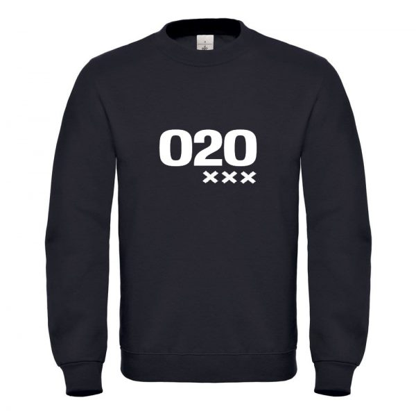 Zwart sweater 020 XXX