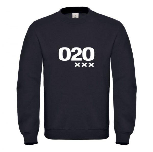 Zwart sweater 020 XXX
