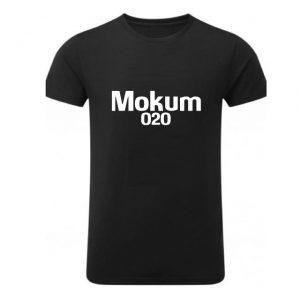 zwart t-shirt mokum 020